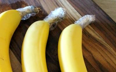 Πώς να κρατήσετε τις μπανάνες σας φρέσκιες;