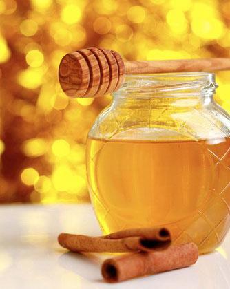 T'ροβολιά με μέλι και κανέλα