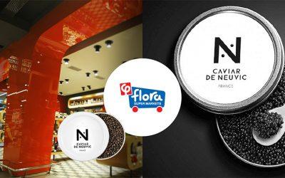 Γευστική δοκιμή Caviar de Neuvic στα Flora