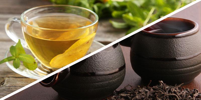 Πράσινο και μαύρο τσάι: τι προσφέρουν στην υγεία μας;