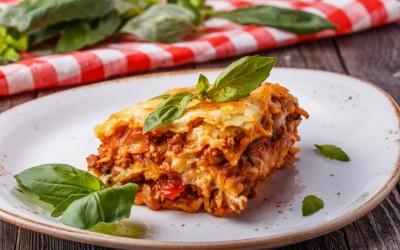 Lasagna με αυθεντική Bolognese