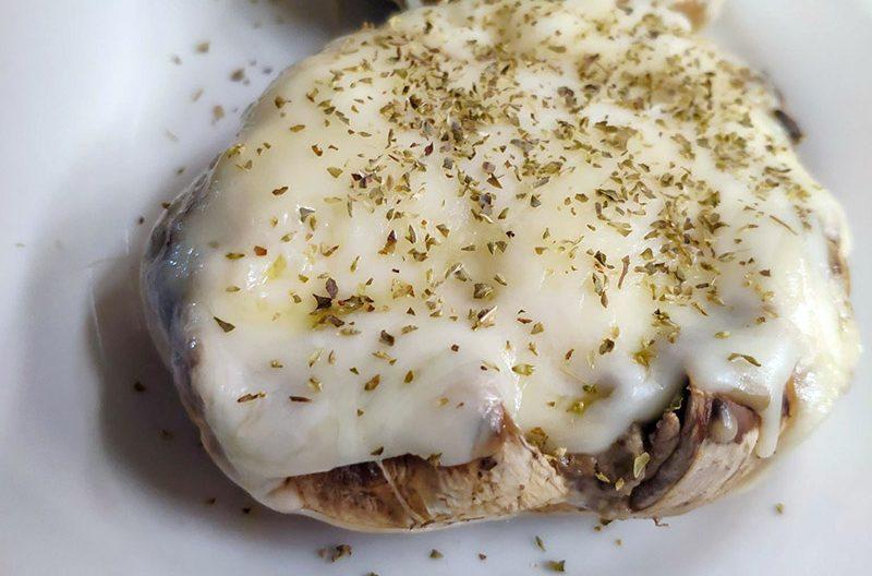 Μανιτάρια με πατάτα και τυρί κρέμα