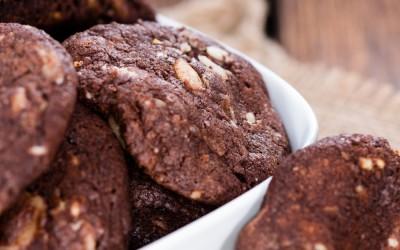 Μπισκότα σοκολάτας με macadamia