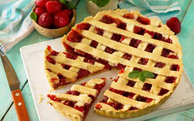 Νηστίσιμη τάρτα φράουλας