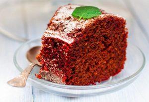 Νηστίσιμο κέικ παντζάρι