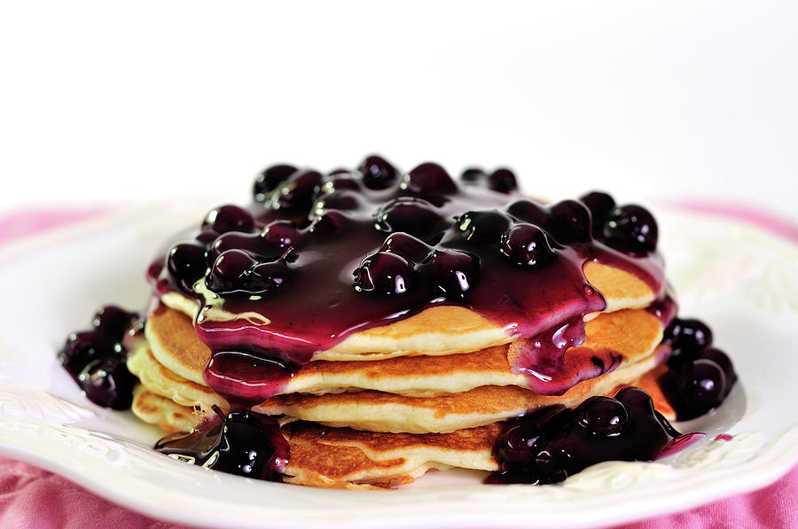 Fruit of the Forest Pancakes