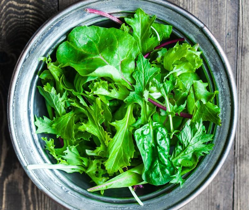 Πράσινη σαλάτα για να αποφύγετε το γλαύκωμα!