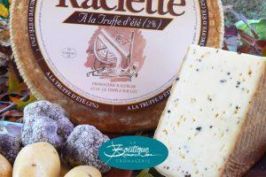 Raclette à la truffe d' été