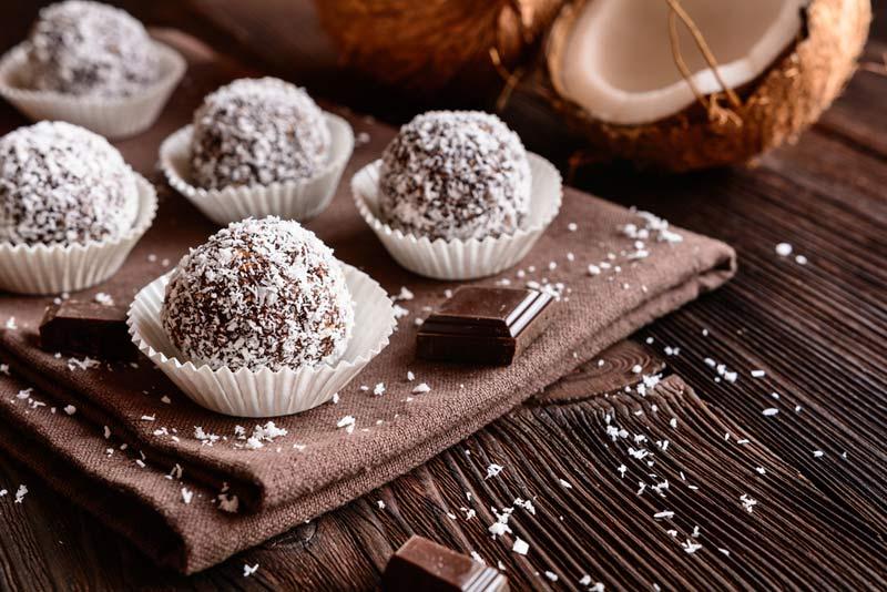 Χιονούλες με σοκολάτα